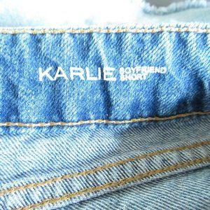 DL1961 Shorts - DL1961 Karlie Boyfriend Shorts Light Distressed